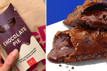 mcdonalds chocolate pie