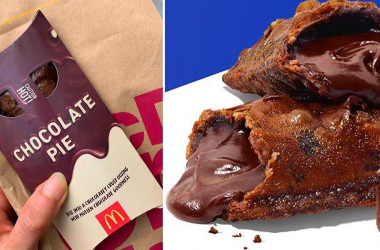 mcdonalds chocolate pie
