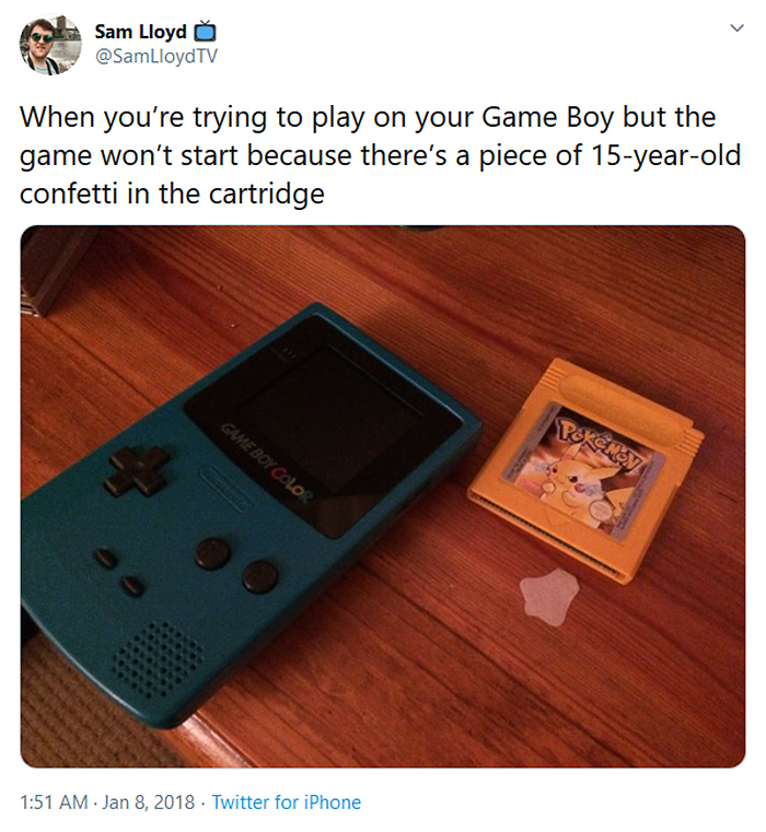 old school struggles gameboy cartridge
