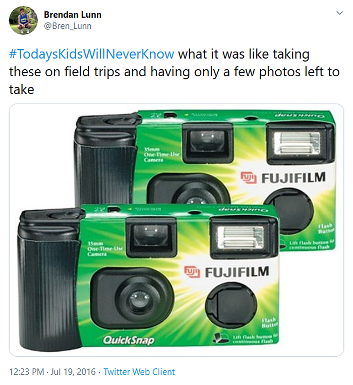 outdated problems film camera