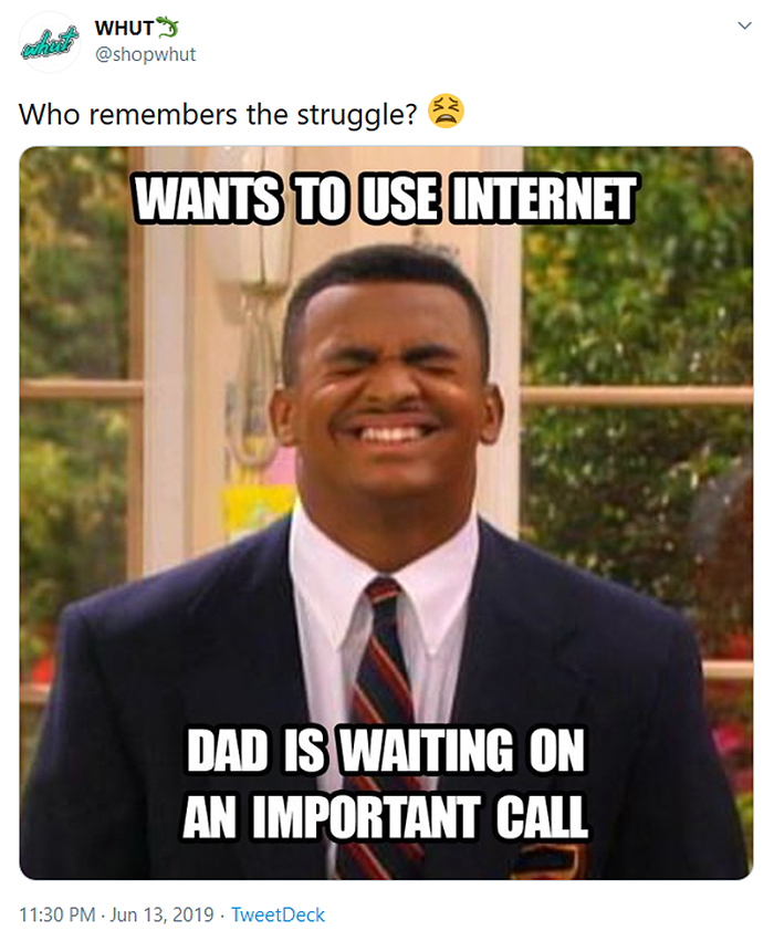 outdated problems internet dial-up