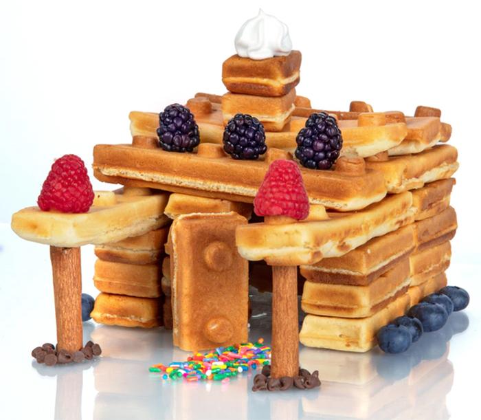 pancake breakfast lego blocks