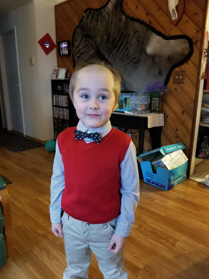 parenting quarantine funny kid haircut