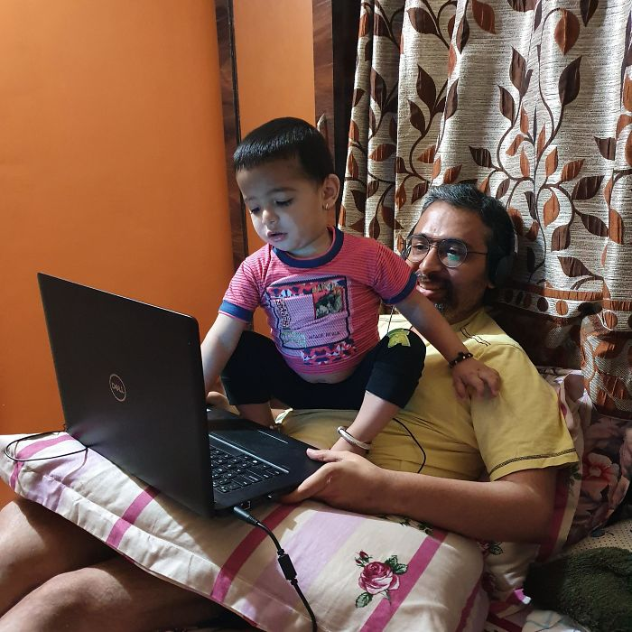 parenting quarantine working from home