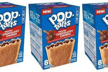 pop-tarts frosted chocolatey churro