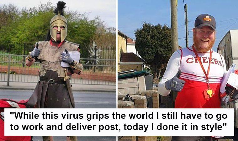 postman costumes
