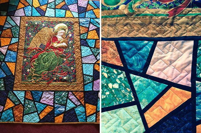 religious quiltstain designs
