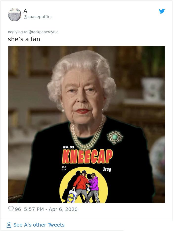 royal green dress memes kneecap