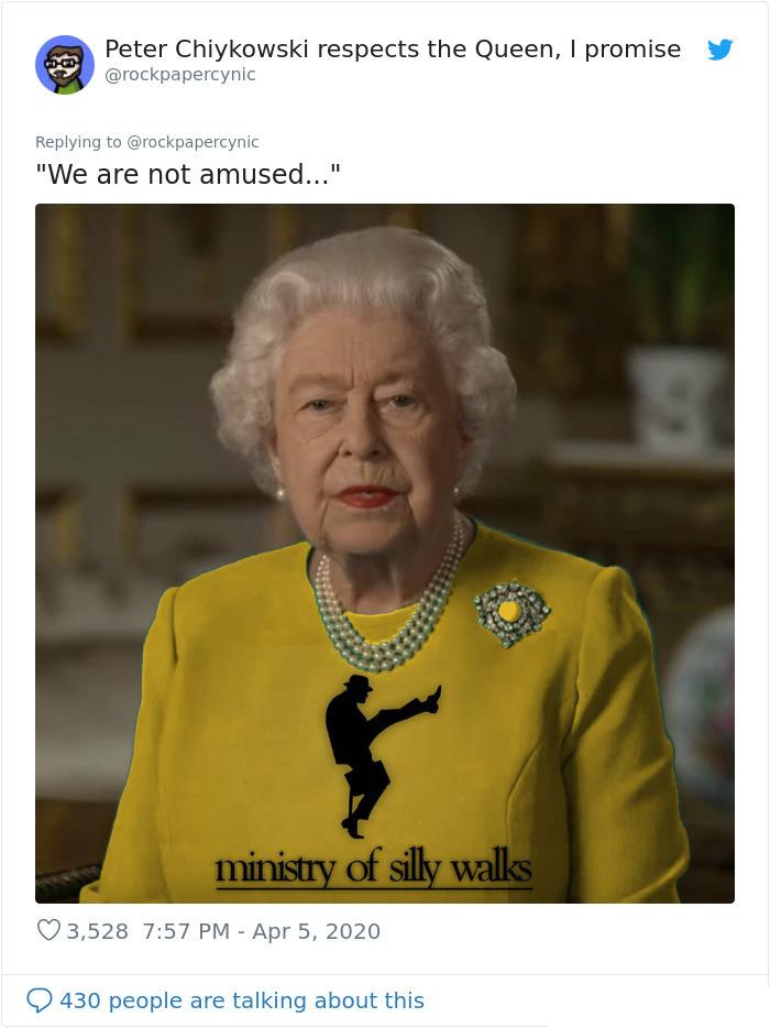 royal green dress memes silly walks