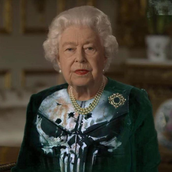 royal green dress memes skull