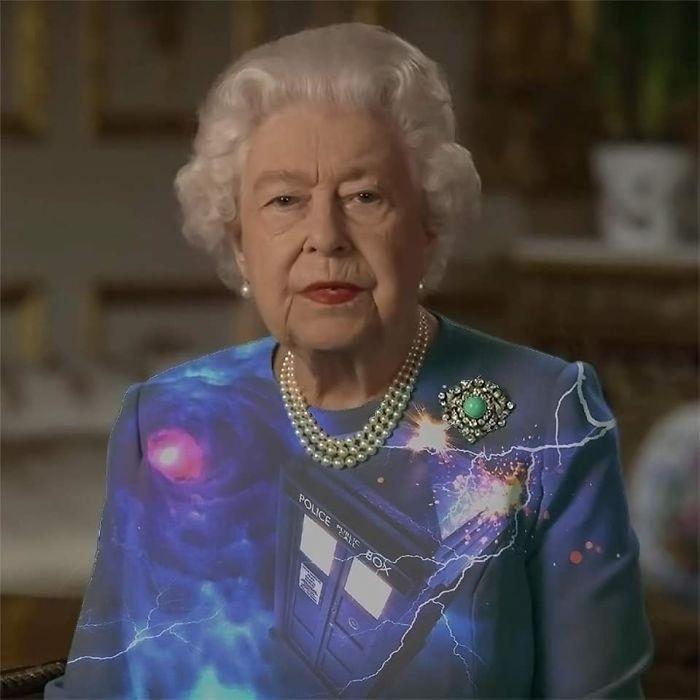 royal green dress memes the doctor