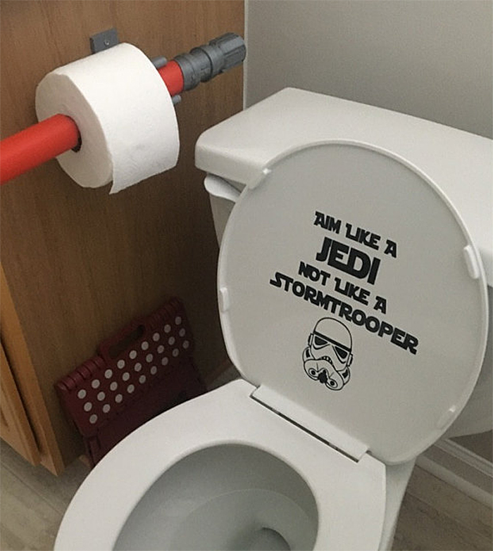 star wars-inspired TP bathroom item