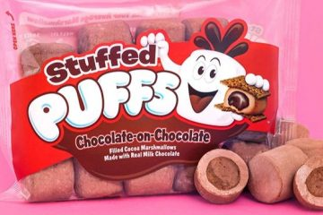 stuffed puffs chocolate
