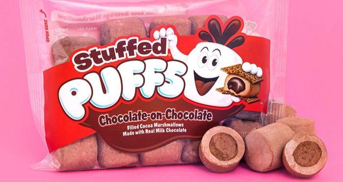 stuffed puffs chocolate