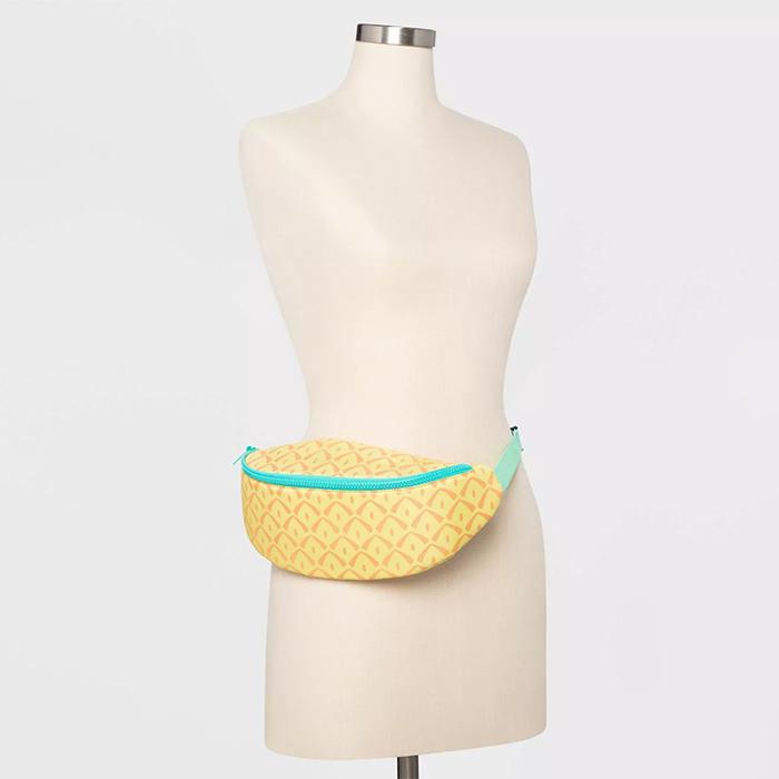 summer-inspired waistband pouch