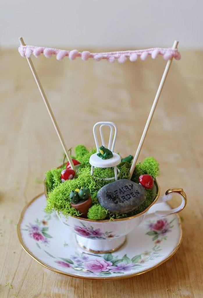 teacup gardens frog chair