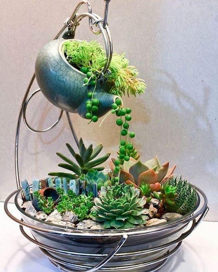 teacup gardens teapot