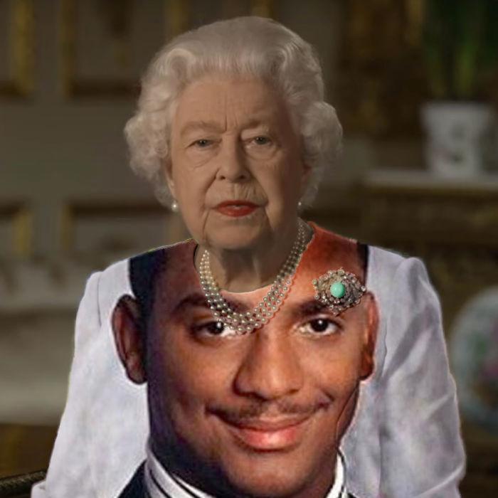 the queen of england memes alfonso ribeiro