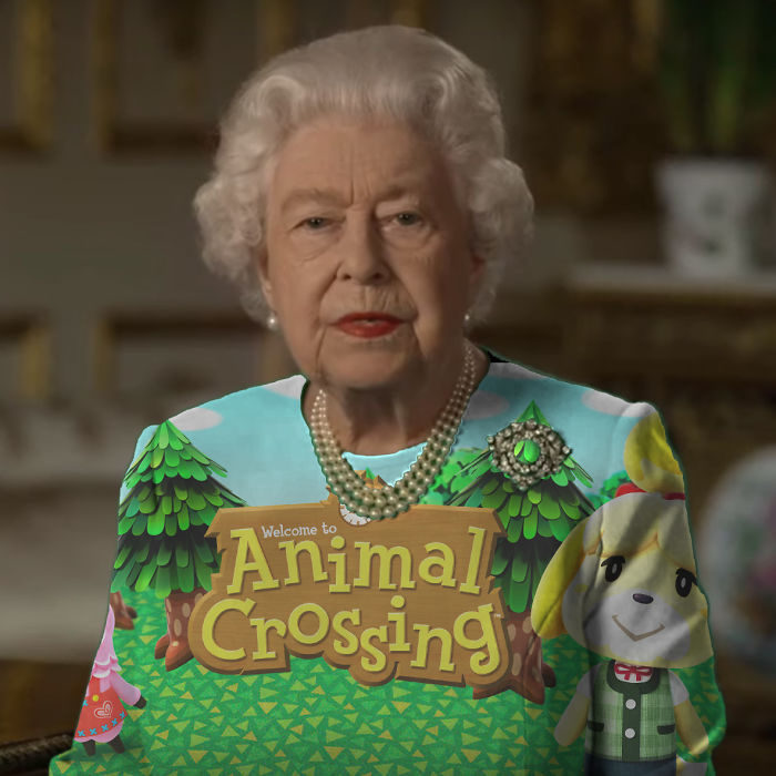 the queen of england memes animal crossing