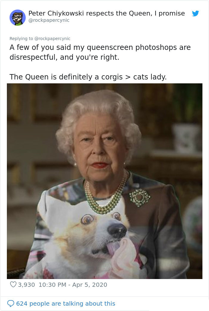 the queen of england memes corgi lady
