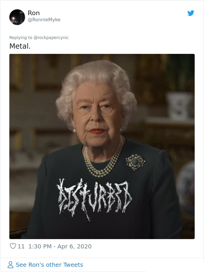 the queen of england memes disturbed