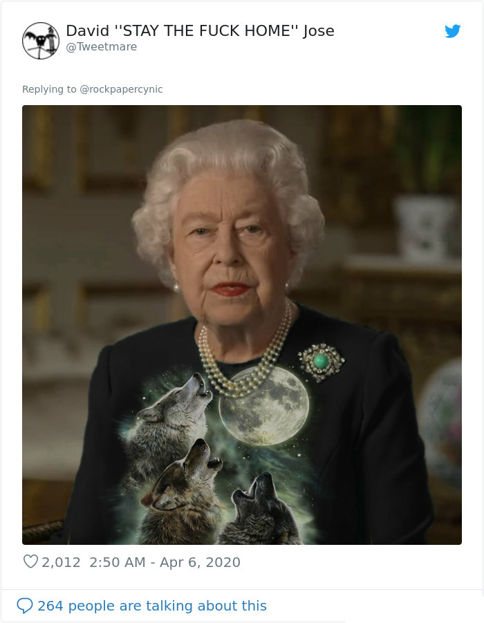 the queen of england memes howling wolves