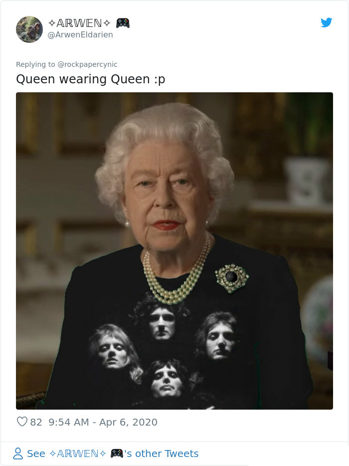 the queen of england memes rock band