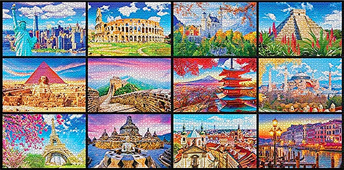wonders from around the world puzzle