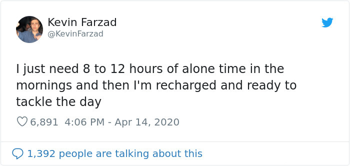 12 hours alone time things everyone doesn't talk about
