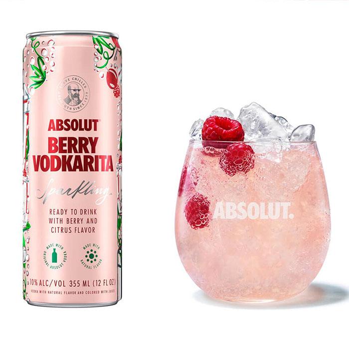 Absolut Raspberry Vodkarita