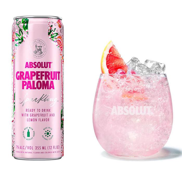 Absolut Vodka Grapefruit Paloma
