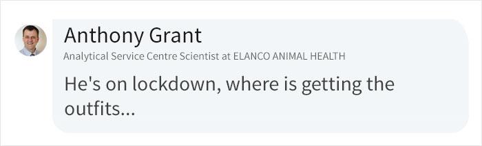 Anthony Grant LinkedIn Comment