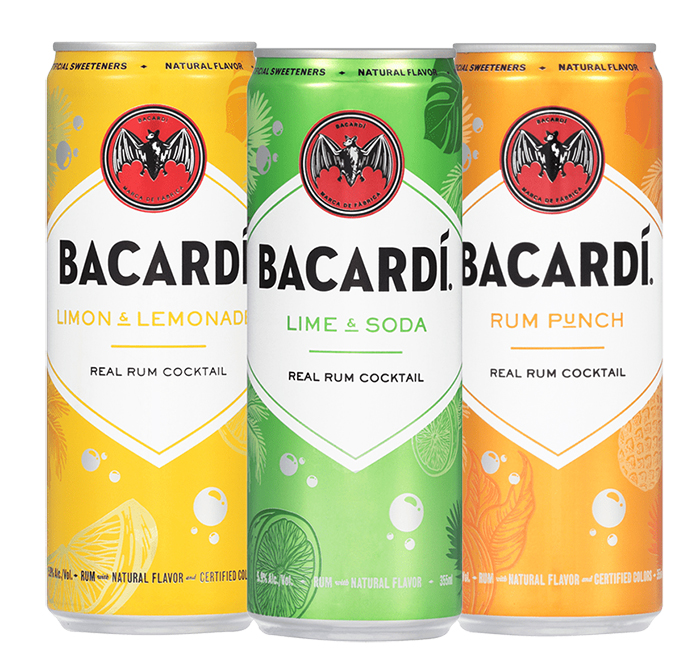 Bacardi Real Rum Cocktails