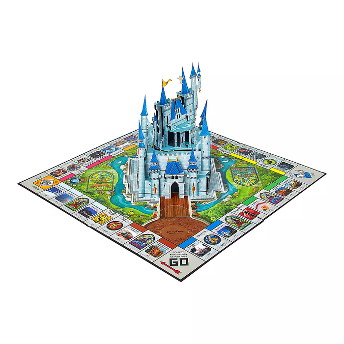 Board Game with a Fantasyland Castle Pop-up