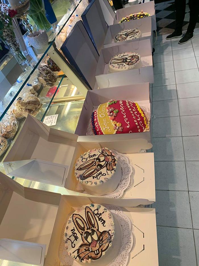 Cafe & Konditorei Rothe Easter Cakes