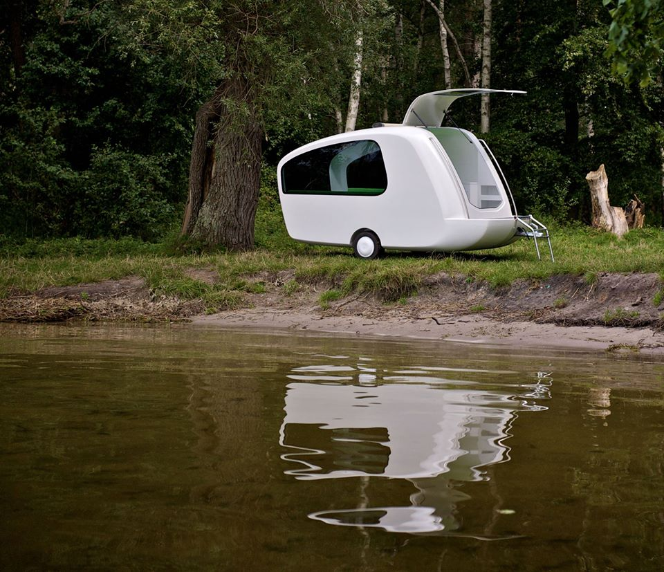 Camping Trailer that Doubles as Boat