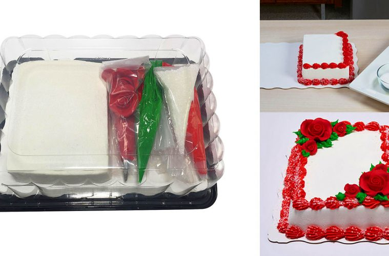 DIY cake decorating kit