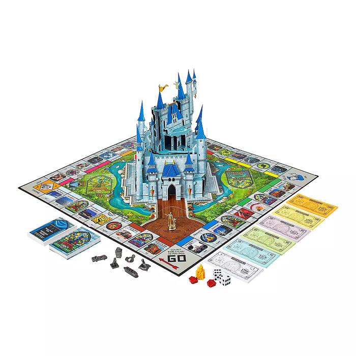 Disney Theme Parks Monopoly Board Game
