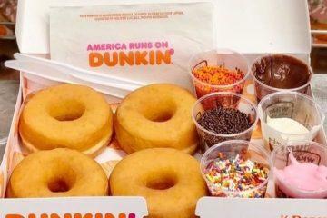 Dunkin DIY Donut Kits