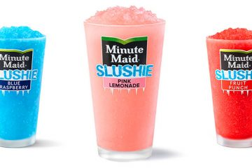 McDonald's Minute Maid Slushie