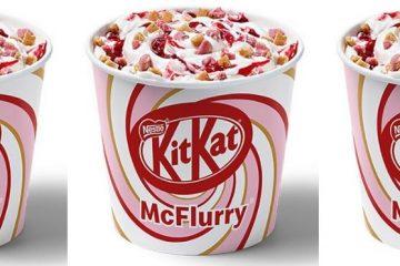 McDonald's KitKat Ruby McFlurry