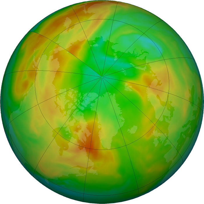 Ozone Layer Hole April 26 2020