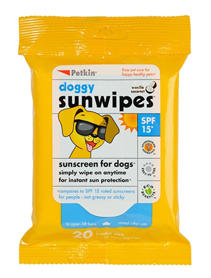 Petkin Doggy Sunwipes