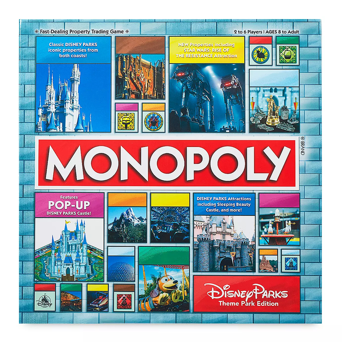 Property-trading Board Game Packaging