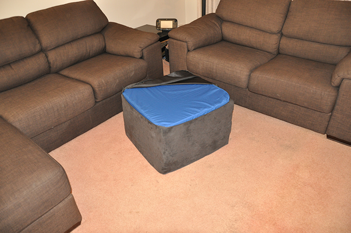 squishy forts zippered cover