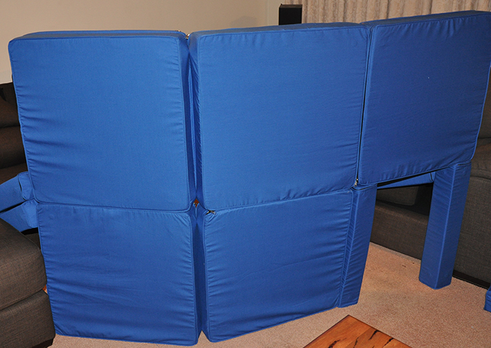 easy fort building squishy forts
