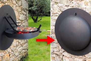 Wall-Mountable BBQ Grill