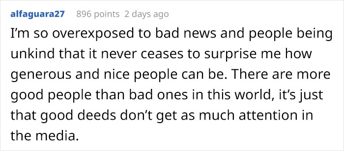 alfaguara27 Reddit Comment on Old Lady Handwritten Note Story