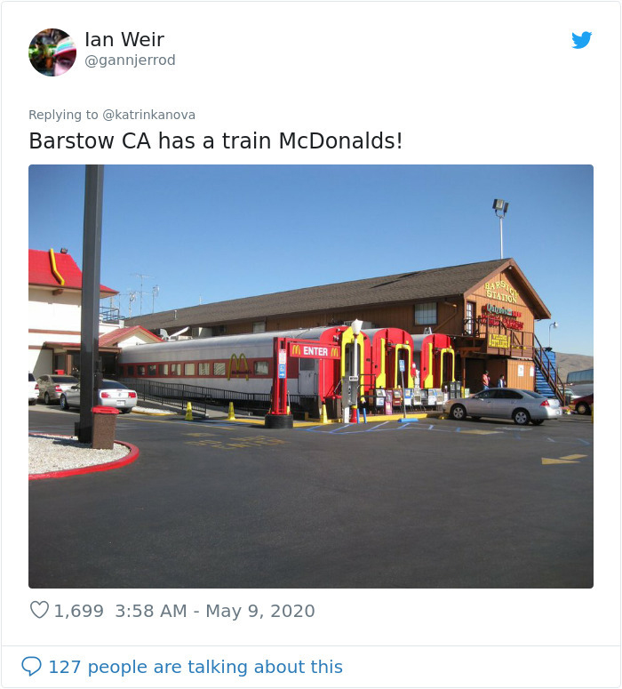 barstow old train station turned into fast-food restaurant