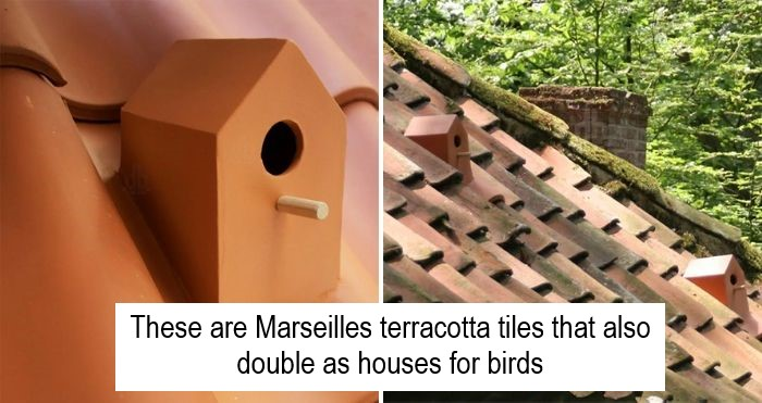 birdhouse roof tiles